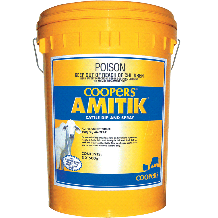 Amitik WP Cattle Dip and Spray